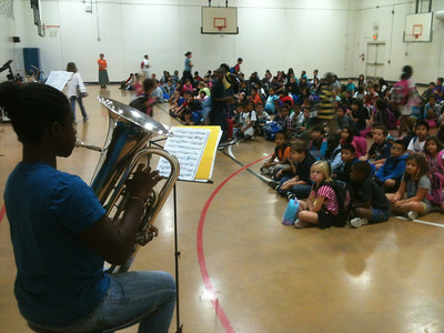 LD Bell Band's Elementary Outreach Program (Fall 2012)
