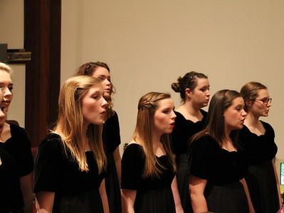 Choir's Pre-Italy Concert (March 2012)