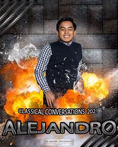 alejandro - flames