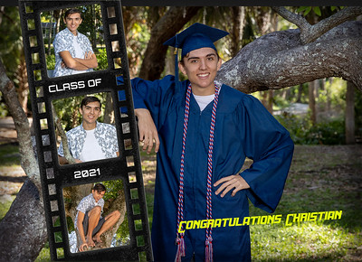 Christian Grad card