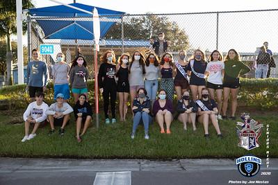 Senior Night- Hollins and Pinellas Park Swim Team
