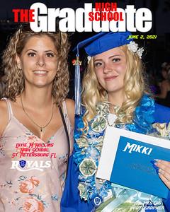 The Graduate Magazine Cover Mikki