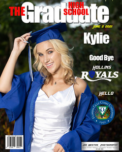 The Graduate Magazine Cover Kylie