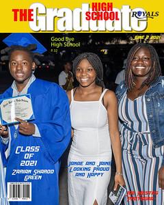 The Graduate Magazine green