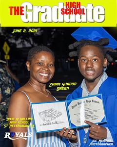 The Graduate Magazine Cover green