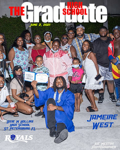 The Graduate Magazine Cover west 3