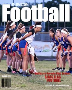 8x10 Magazine Cover Inside Football