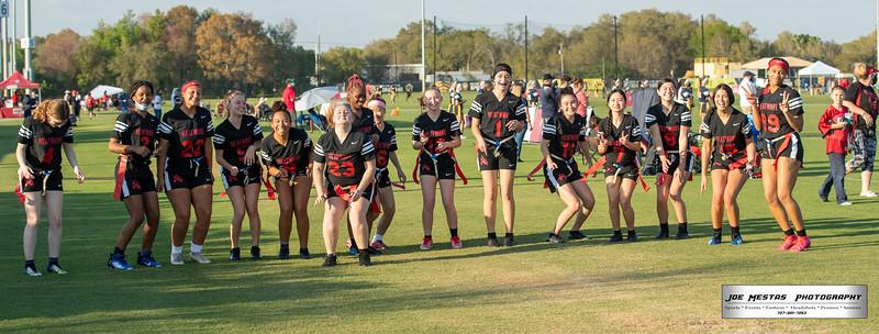 3rd Annual Tampa Bay Buccaneers Foundation 2021 Girls Flag Football Preseason Classic