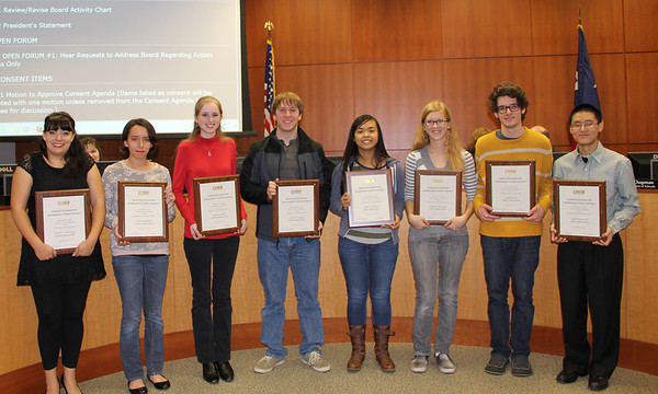 High School Merit Scholars (December 2013)