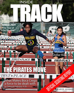 8x10 Magazine Cover Track Boca
