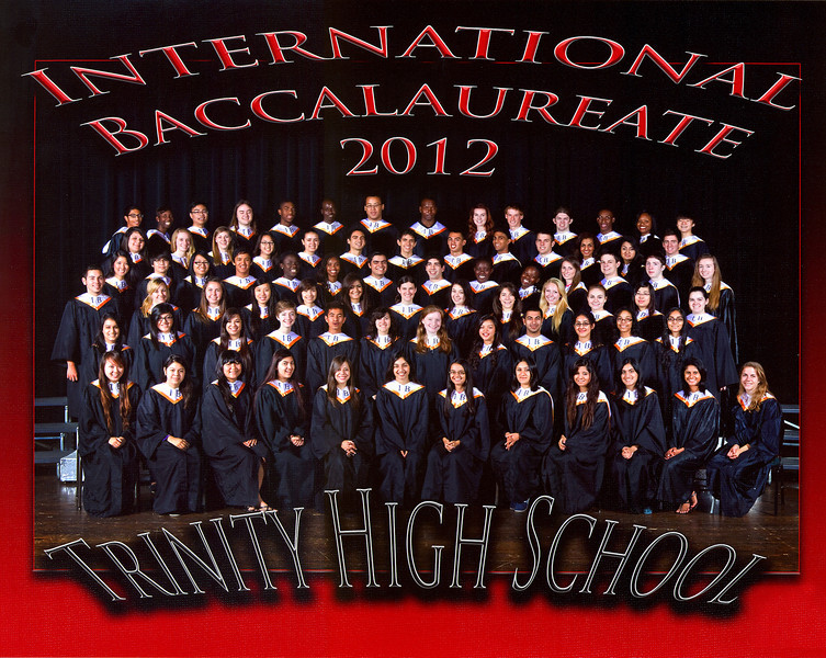 2012 Trinity International Baccalaureate Graduates