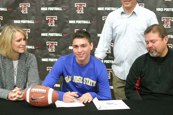 THS Signing Day (February 1, 2012)