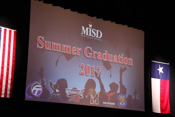 2017 Summer Graduation