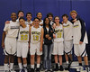 Bentley Varsity Basketball Seniors on 01/21/2011