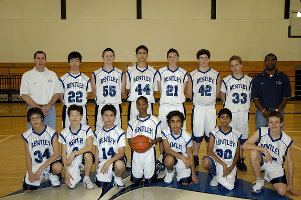 Basketball Team Photos, 2006