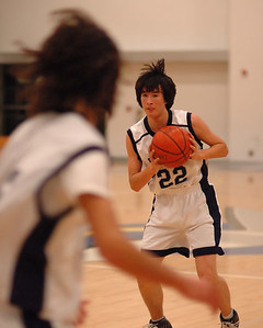 Bentley Men's JV Basketball, 01/19/07