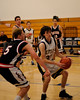 Bentley Men's JV Basketball vs. Marin Academy on 01/03/2010.