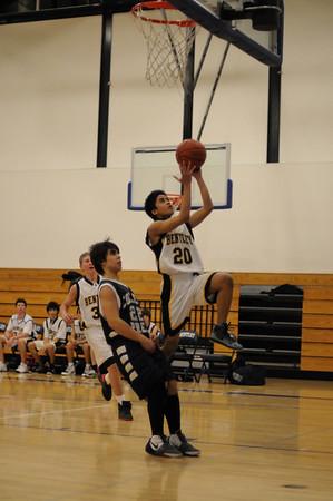 Men's JV Basketball, 01/06/09