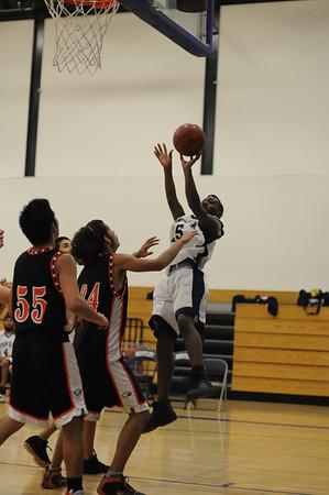 Men's JV Basketball, 12/12/07