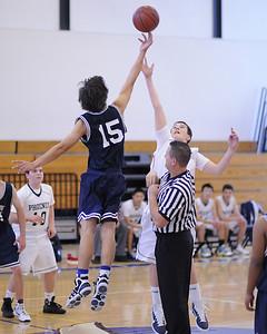 Men's JV Basketball, 12/16/10