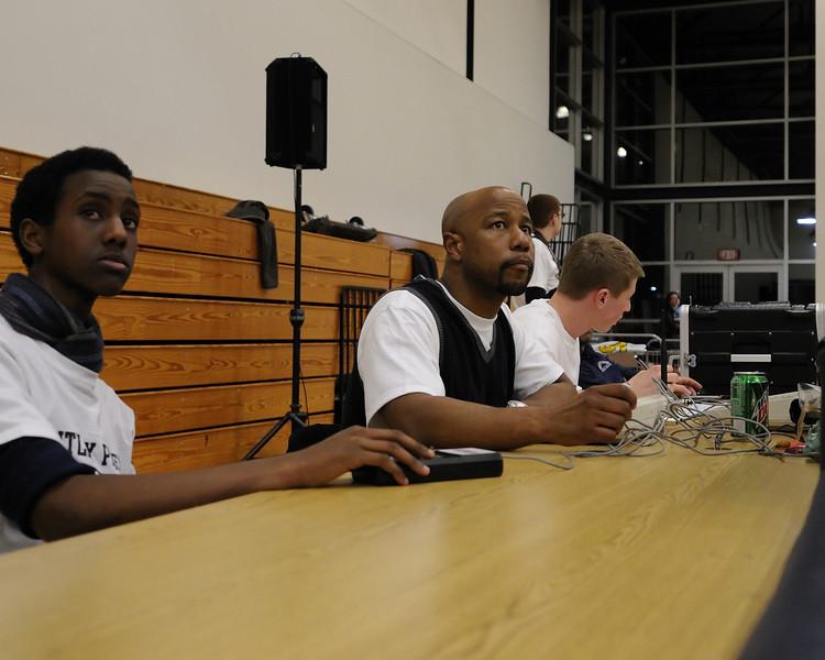 Bentley Men's Varsity Basketball vs. Head-Royce on 01/21/2011
