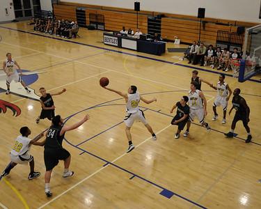 Men's Varsity Basketball, 01/21/11
