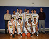 Bentley Men's Varsity Basketball team photo,  02/12/2010
