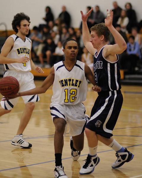 Bentley Men's Varsity Basketball vs. Waldorf on 12/16/2010