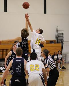 Men's Varsity Basketball, 12/16/10