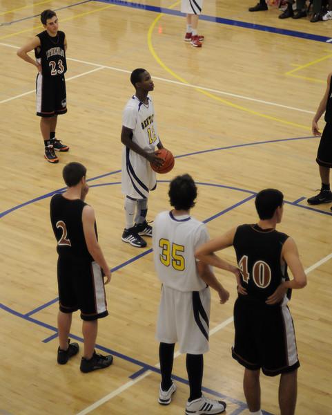 Bentley Men's Varsity Basketball vs. Athenian 01/09/09