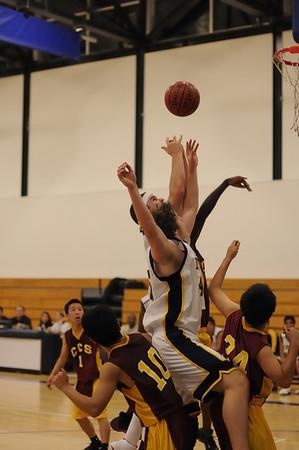 Men's Varsity Basketball, 01/11/08