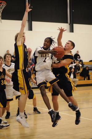 Men's Varsity Basketball, 01/22/08