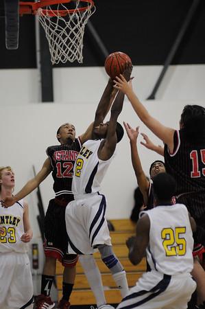 Men's Varsity Basketball, 01/22/09