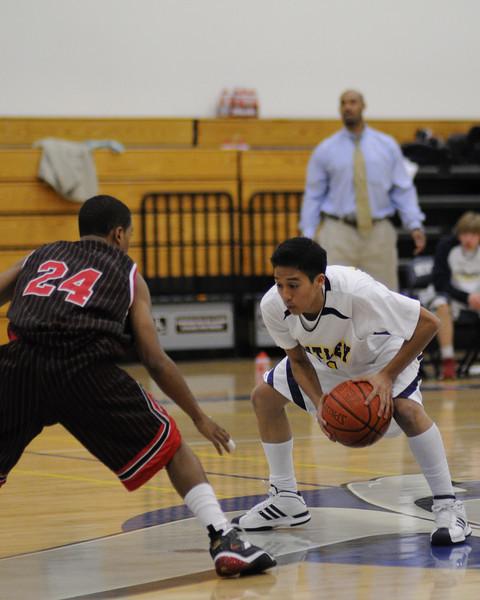 Bentley Men's Varsity Basketball vs. St. Elizabeth on 01/22/2009