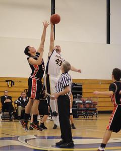 Men's Varsity Basketball, 01/29/08