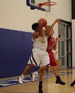 Men's Varsity Basketball, 02/10/09