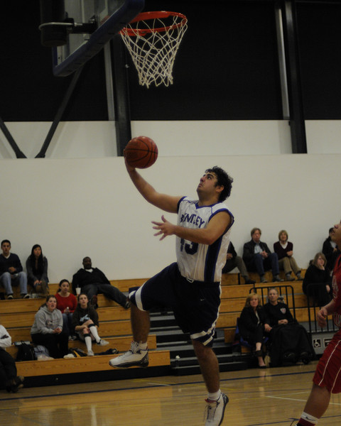 Bentley Men's Varsity Basketball vs. Valley Christian on 02/10/09