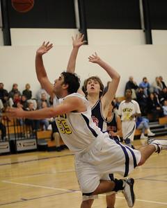 Men's Varsity Basketball, 02/13/09