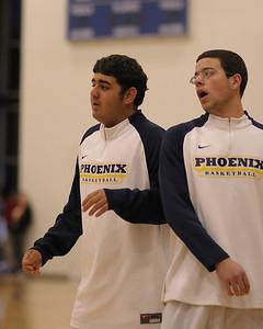 Men's Varsity Basketball, 11/29/08