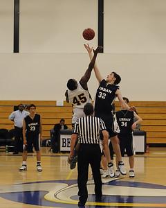 Men's Varsity Basketball, 12/11/07