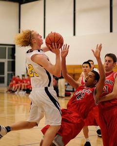 Men's Varsity Basketball, 12/14/09