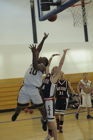 Men's Varsity Basketball, 12/22/07