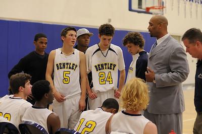 Men's Varsity Basketball, 12/29/09