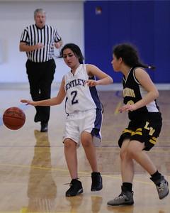 Women's JV Basketball, 01/27/11