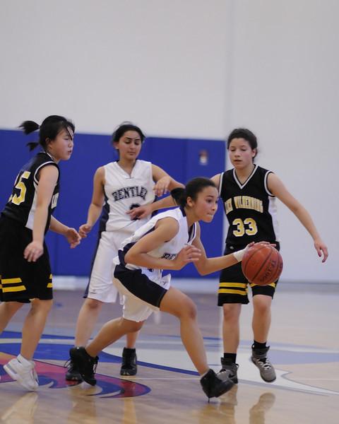 Bentley Women's Varsity Basketball vs. Lick-Wilmerding on 01/27/2011