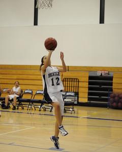 Women's JV Basketball, 01/14/08