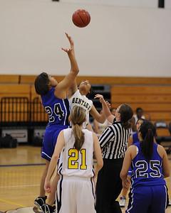 Women's Varsity  Basketball, 01/27/11