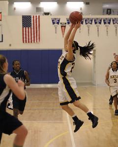 Women's Varsity Basketball, 02/20/08