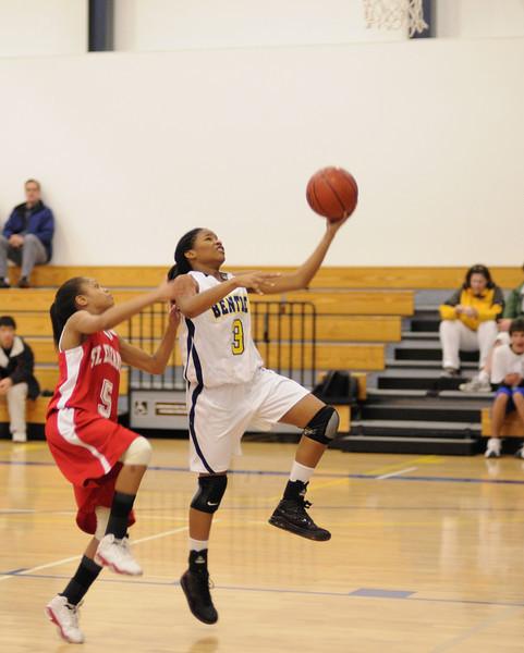 Bentley Women's Varsity Basketball vs. St. Elizabeth on 02/11/09