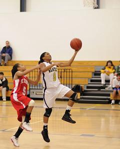 Women's Varsity Basketball, 02/11/09
